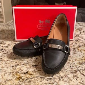 Coach Felisha soft leather loafer
